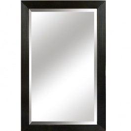 Zrcadlo s dřevěným rámem v černé barvě TYP 1 TK2200