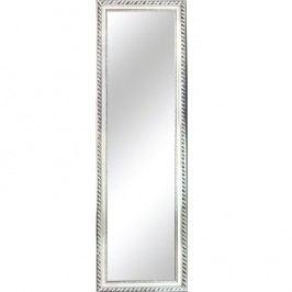 Zrcadlo ve stříbrné barvě s dřevěným rámem TYP 5 TK2200
