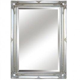 Zrcadlo s rámem ve stříbrné barvě TYP 7 TK2200