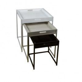 Set příručních stolů v barevném provedení TK2204