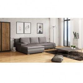 Univerzální prostorná sedací souprava v šedých odstínech TK279