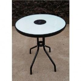 Jídelní stůl 60x70cm k zahradnímu setu s temperovaným sklem TK2108