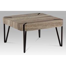 Konferenční stolek 80x80 cm v kombinaci dub
