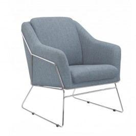 Relaxační křeslo v tmavě šedém odstínu TK342