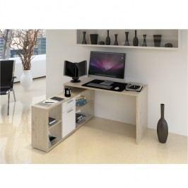 Počítačový stůl 135x60cm v dekoru dub san remo TK2091