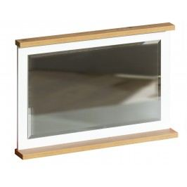 Závěsné zrcadlo v dekoru borovice andersen v kombinaci s dub nash typ SV14 KN606