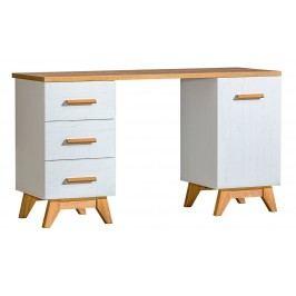 Pracovní stůl v dekoru dub nash v kombinaci s borovice andersen typ SV12 KN606