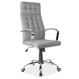 Kancelářské otočné křeslo v šedé barvě KN770