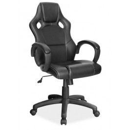Kancelářské otočné křeslo v černé barvě KN754