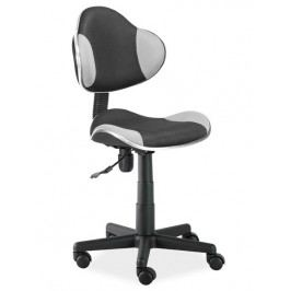 Kancelářská otáčecí židle v černé a šedé barvě KN045