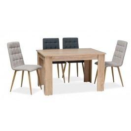 Jídelní stůl 120x80 cm v dekoru dub sonoma KN780