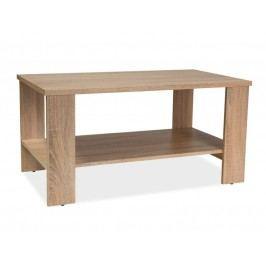 Konferenční stolek 100x55 cm v dekoru dub sonoma KN659