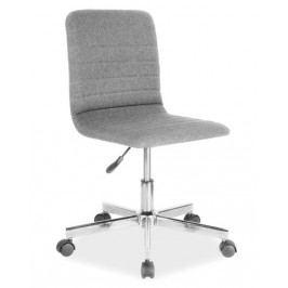 Kancelářská otočná židle v šedé barvě KN758