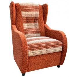 Relaxační křeslo v oranžové barvě F1265