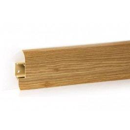 Podlahová lišta PVC odklápěcí pro kabel dekor dub iberský LP55