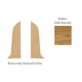 Koncovka L+P k PVC liště dekor dub iberský LP55