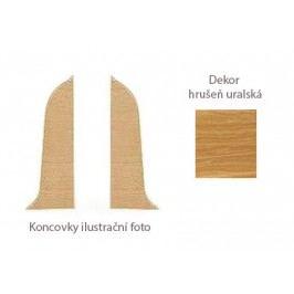 Koncovka L+P k PVC liště dekor hrušeň uralská LP55