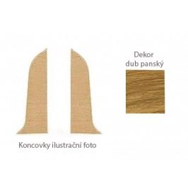 Koncovka L+P k PVC liště dekor dub panský LP55