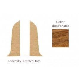 Koncovka L+P k PVC liště dekor dub Panama LP55