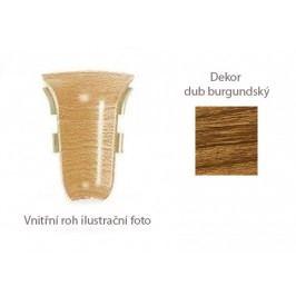 Roh vnitřní k PVC liště dekor dub burgundský 2 ks LP55