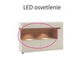 LED osvětlení dvoubodové ve stylovém bílém provedení TK026 TYP 70