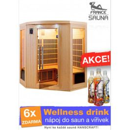 Infrasauna FRANCE SAUNA Apollon 3/4
