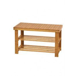 Botník bambusový se stoličkou DR-022