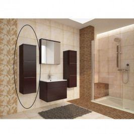 Skříňka koupelnová vysoká wenge WE11 TK3067
