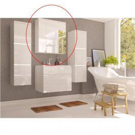 Skříňka koupelnová se zrcadlem bílá WH14 TK3067