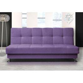 Pohodlná pohovka s úložným prostorem v fialové barvě F1303