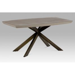 Moderní jídelní stůl 160x95 cm z kvalitní MDF v lanýžovém matu HT-690 LAN