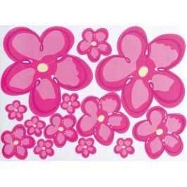 Nálepka květiny W002