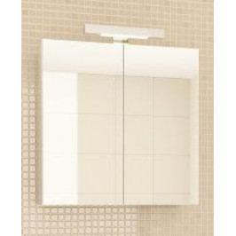 Koupelnová skříňka se zrcadlem v bílé barvě F1385
