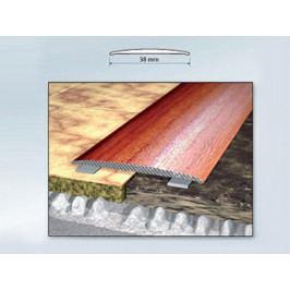 Profil podlahový hliníkový samolepící 3,8x90 cm dub světlý PVC folie BOHEMIA