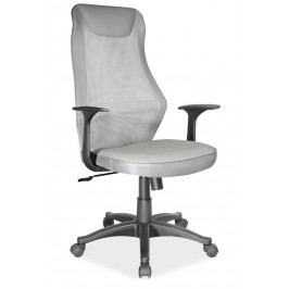 Kancelářské otočné křeslo v šedé barvě KN998