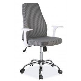 Kancelářská otočná židle v šedé barvě KN999