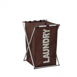 Látkový koš na prádlo tmavě hnědý LAUNDRY TYP 1 II.jakost TK2012