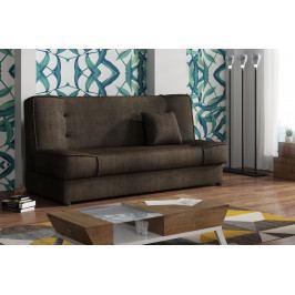 Pohodlná pohovka s úložným prostorem v hnědé barvě F1373