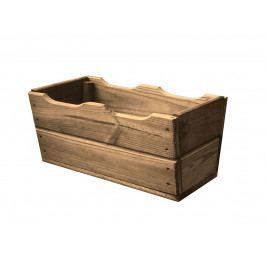 Dřevěný truhlík 40 cm