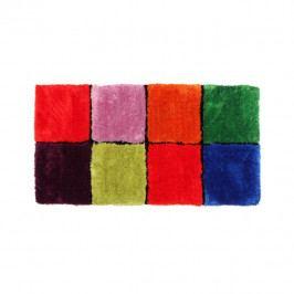 Koberec kostkovaný mix barev 80x150 TK3297