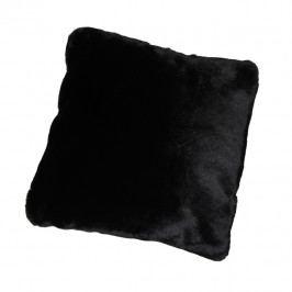 Polštář, černá, 45x45, RABITA TYP 1