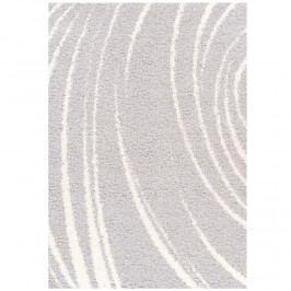 Koberec šedý vzor 160x235 TK3246