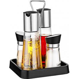 Lamart Menážka (sůl, pepř, nádoba na olej a ocet) 4 ks Taste LT7019