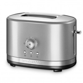 Kitchenaid Toustovač 5KMT2116ECU s manuálním ovládáním, topinkovač, stříbrná