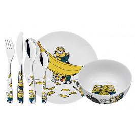 WMF Dětský jídelní set 6dílný Mimoni