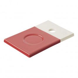 REVOL Podšálek červená Amarante Color Lab