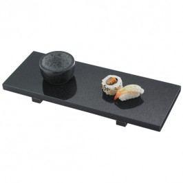 Servírovací sushi set MEYER černý mramor