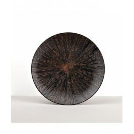MIJ Kulatý talíř Bronze Converging 29 cm