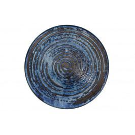 MIJ Kulatý talíř COPPER SWIRL 28,5 cm