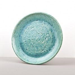 MIJ Kulatý talíř Turquoise 28 cm